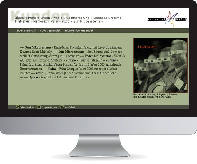 essential media website