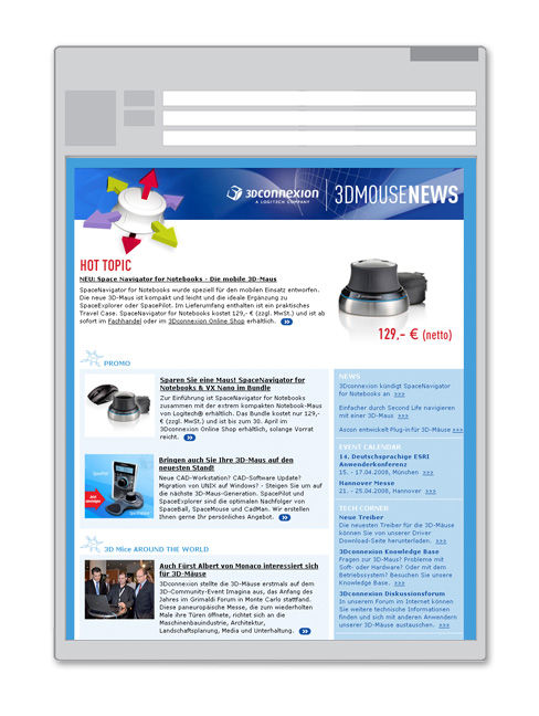 3DX Newsletter