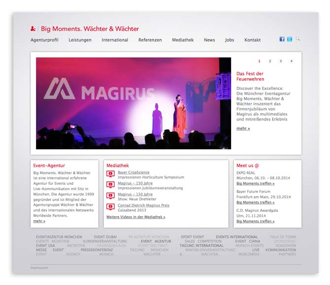 Big Moments Website