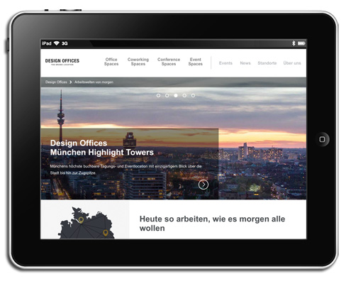 Design Offices Website-Optimierung